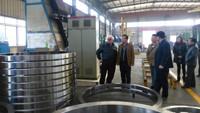 European famous titanium company visit ABL titanium plant